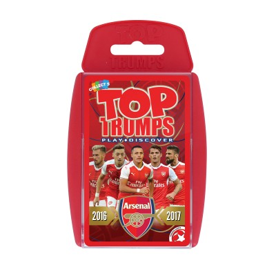 TOP TRUMPS - ARSENAL FC 2015-16 CARD GAME