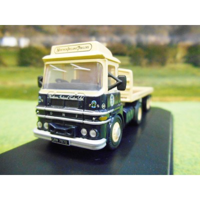 OXFORD 1:76 ERF LV FLATBED ARTIC LORRY NORTHERN IRELAND TRAILERS