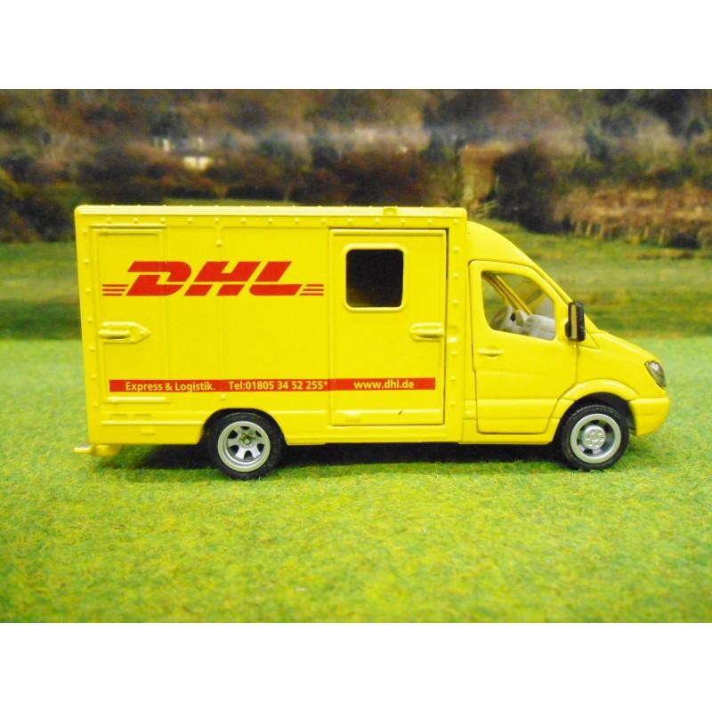 Siku 1 50 Mercedes Benz Sprinter Dhl Parcel Delivery Van