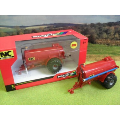 BRITAINS 1:32 NC 2500 SLURRY TANKER FIELD SIDE