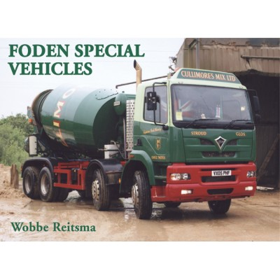 FODEN SPECIAL VEHICLES WOBBE REITSMA HARDBACK BOOK