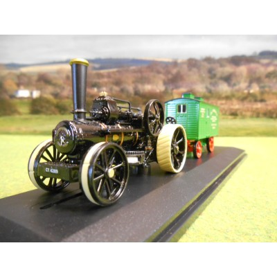 OXFORD GDSF 1:76 FOWLER BB1 PLOUGHING ENGINE BRISTOL ROVER & LIVING WAGON