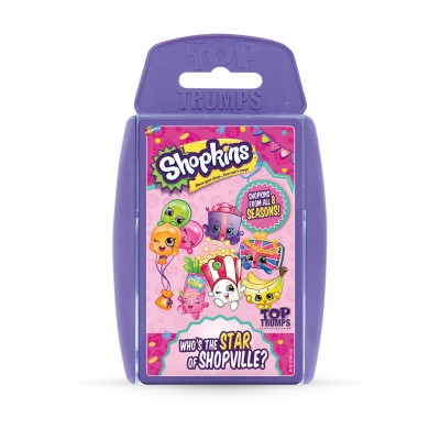 TOP TRUMPS - SHOPKINS 'WHO'S THE STAR OF SHOPVILLE?' 2017 CARD GAME