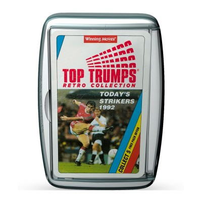 TOP TRUMPS - TODAYS STRIKERS (1992) RETRO LIMITED EDITION CARD GAME