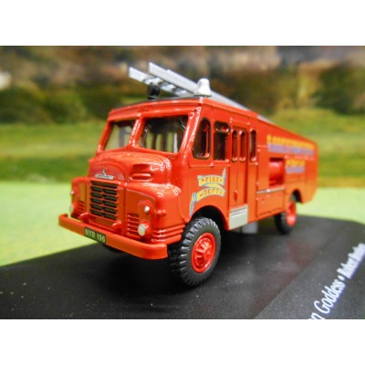 OXFORD ATLAS 1:76 BEDFORD GREEN GODDESS FIRE ENGINE ROBERT BROTHERS CIRCUS
