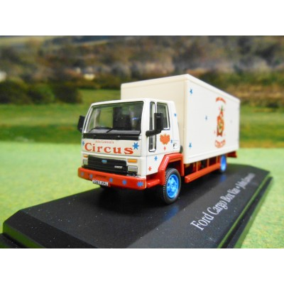 OXFORD ATLAS 1:76 FRGO BOX TRUCK JOHN LAWSONS CIRCUS