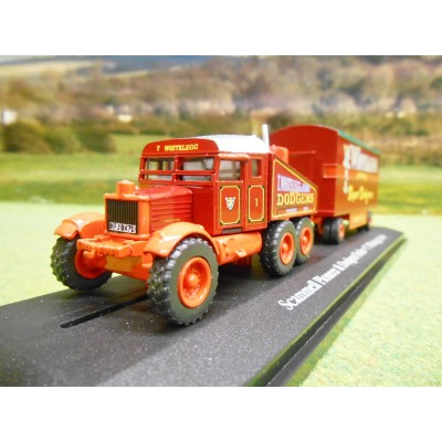 OXFORD ATLAS 1:76 SCAMMELL PIONEER GENERATOR & DODGEMS TRAILER WHITELEGG & SONS