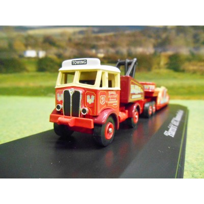 ATLAS CORGI 1/76 AEC MAMMOTH & LOW LOADER HARRIS'S AMUSEMENTS FUN FAIR