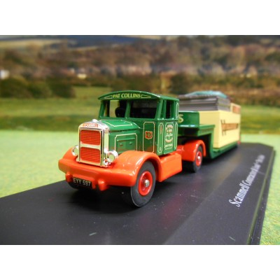ATLAS CORGI 1/76 SCAMMELL CONTRACTOR & LOWLOADER PAT COLLINS FUN FAIR