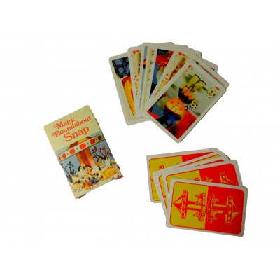 RETRO THE MAGIC ROUNDABOUT SNAP GAME CARDS