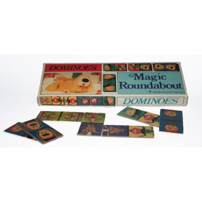 RETRO THE MAGIC ROUNDABOUT DOMINOES GAME