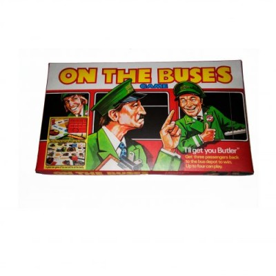 ON THE BUSES RETRO BOARD GAME