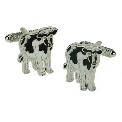COW CUFFLINKS IN GIFT BOX