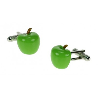 APPLE CUFFLINKS IN GIFT BOX