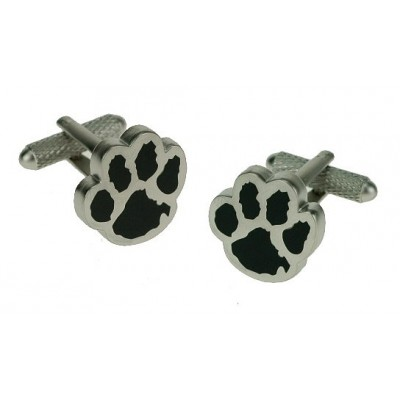 DOG PAW PRINT CUFFLINKS IN GIFT BOX