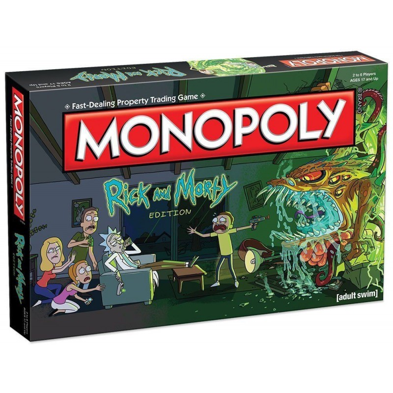 MONOPOLY - RICK AND MORTY BOARD GAME
