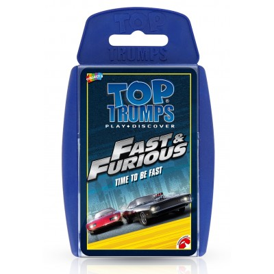 TOP TRUMPS - THE FAST & FURIOUS CARS CARD GAME