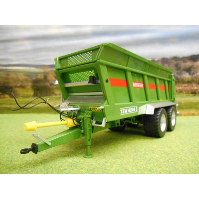 WIKING 1:32 BERGMANN TSW 6240S TWO AXLE MUCK SPEADER