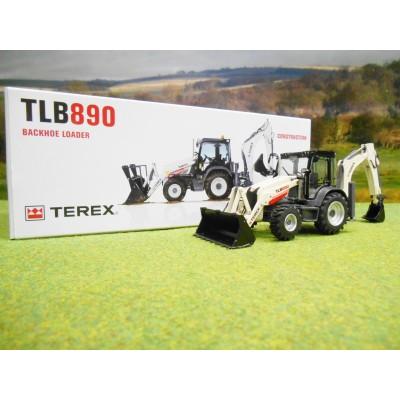 NZG 1/50 TEREX TLB890 BACKHOE LOADER DIGGER