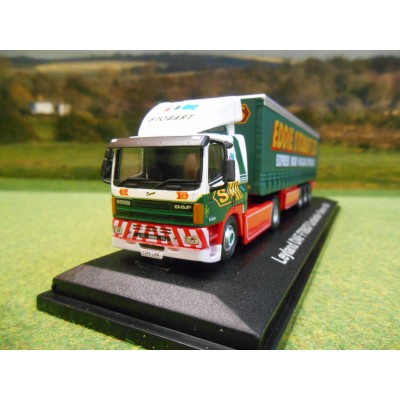 OXFORD 1:76 EDDIE STOBART DAF FT 85 CF 40FT CURTAINSIDER TRAILER