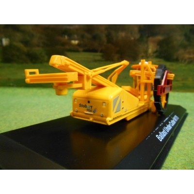 ATLAS OXFORD 1:76 STOBART RAIL BALLAST UNDER CUTTER