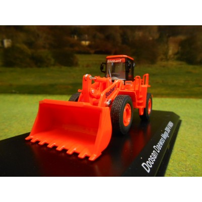 ATLAS OXFORD 1:76 STOBART RAIL DOOSAN DAEWOO MEGA 300V WHEEL LOADER