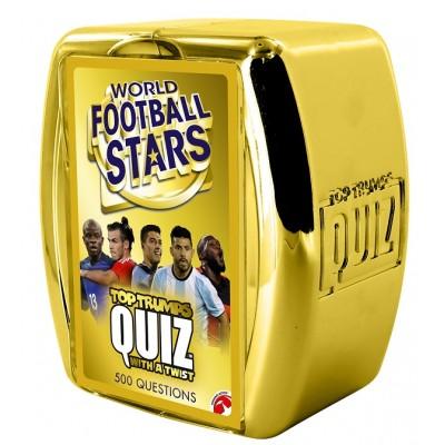 TOP TRUMPS QUIZ - WORLD FOOTBALL STARS EDITION