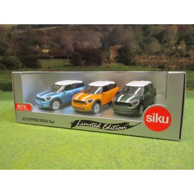 SIKU 1:55 LIMITED EDITION BMW MINI COUNTRYMAN CAR GIFT SET 2