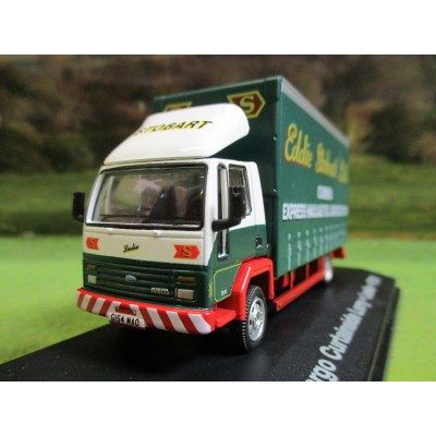 ATLAS OXFORD 1:76 EDDIE STOBART FORD CARGO CURTAINSIDER LORRY