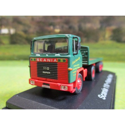 ATLAS OXFORD 1970 SCANIA 110 FLATBED ARTIC 1:76