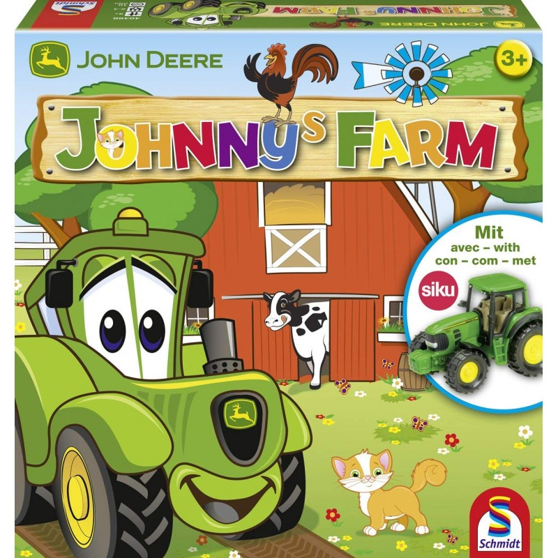 SCHMIDT JOHN DEERE JOHNNYS FARM BOARD GAME