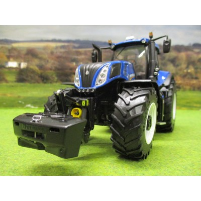 MARGE MODELS 1:32 NEW HOLLAND T8.435 BLUE TRACTOR