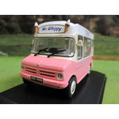 OXFORD BEDFORD CF MORRISON MR WHIPPY ICE CREAM VAN 1:43