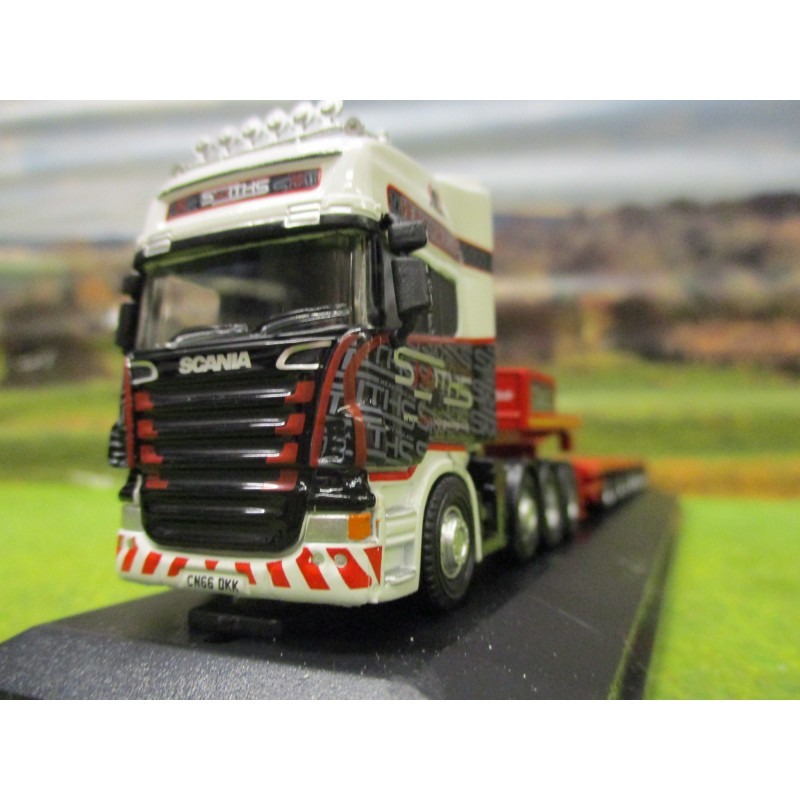 OXFORD 1:76 SCANIA TOPLINE HEAVY HAULER & NOOTEBOOM LOWLOADER SMITHS