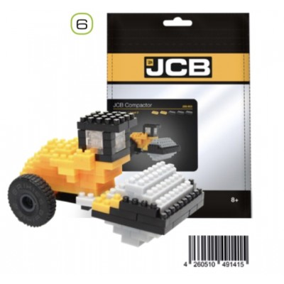 BRIXIES JCB COMPACTOR ROLLER (114 + PIECES) MINI BUILDING BLOCKS