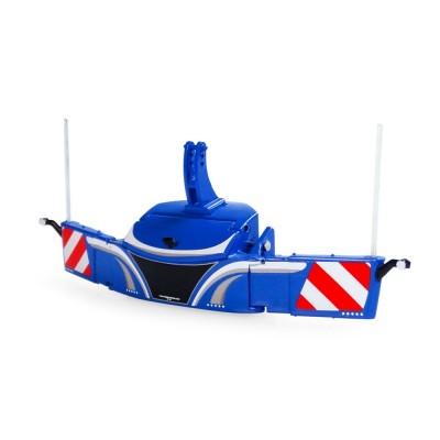 UNIVERSAL HOBBIES 1:32 FRONT BUMPER TRACTOR WEIGHT BLUE