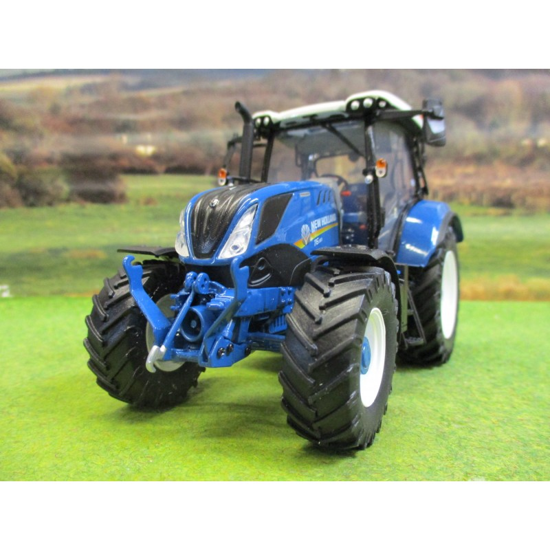 UNIVERSAL HOBBIES 1:32 NEW HOLLAND T6.180 HERITAGE FORD BLUE EDITION TRACTOR