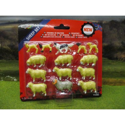 BRITAINS 1:32 SHEEP SET WITH 14 ANIMALS