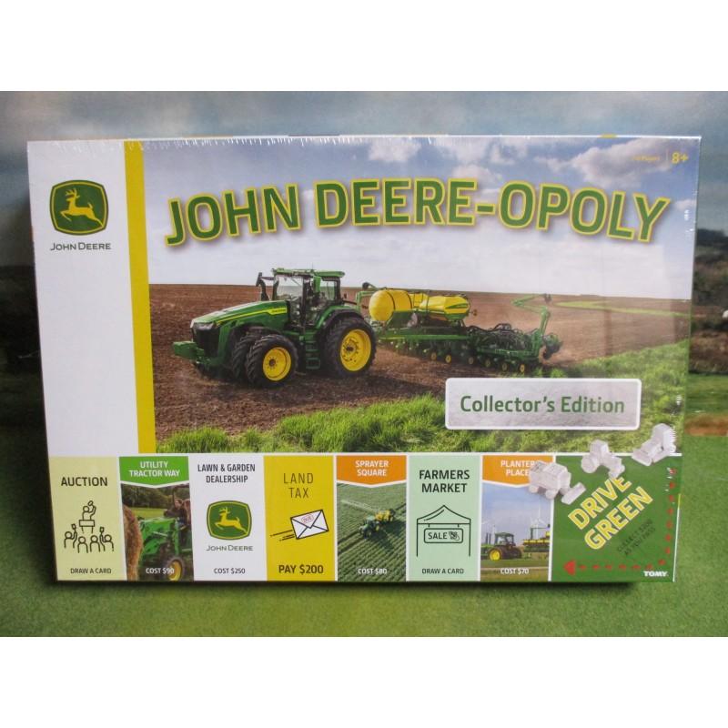 JOHN DEERE-OPOLY MONOPOLY BOARD GAME