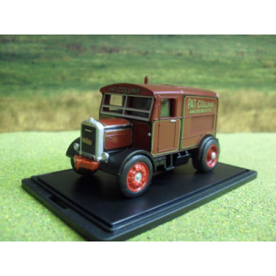 OXFORD SCAMMELL SHOWTRAC PAT COLLINS THE MAJOR 1:76