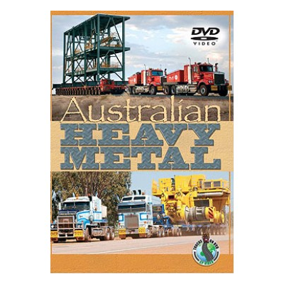 Australian Heavy Metal (DVD) - Pete Connock and Martin Phippard (CP Productions)