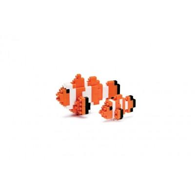 NANOBLOCK® CLOWNFISH (110 + PIECES) MINI BUILDING BLOCKS