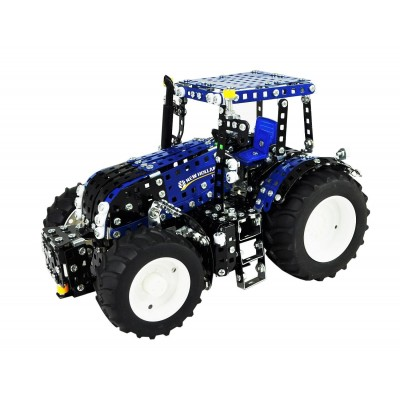 1:16 SCALE NEW HOLLAND T8 TRONICO METAL CONSTRUCTION KIT TRACTOR