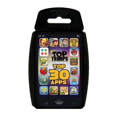 TOP TRUMPS - 30 TOP APPS CARD GAME
