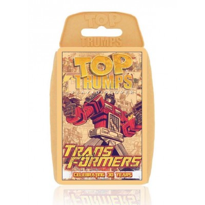 TOP TRUMPS - 30 YEARS OF TRANSFORMERS RETRO CARD GAME