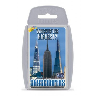 TOP TRUMPS - SKYSCRAPERS 'WHICH IS THE HIGHEST' CARD GAME