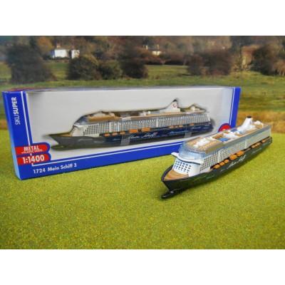 SIKU MEIN SCHIFF 3 CRUISELINER SHIP MODEL 1:1400