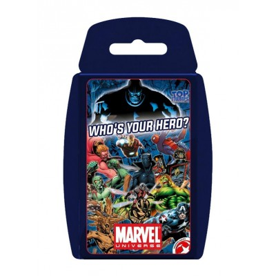 TOP TRUMPS - MARVEL UNIVERSE CARD GAME