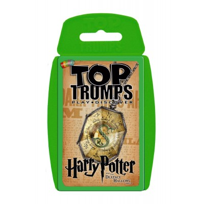 TOP TRUMPS - HARRY POTTER & THE DEATHLY HALLOWS PART 1 CARD GAME
