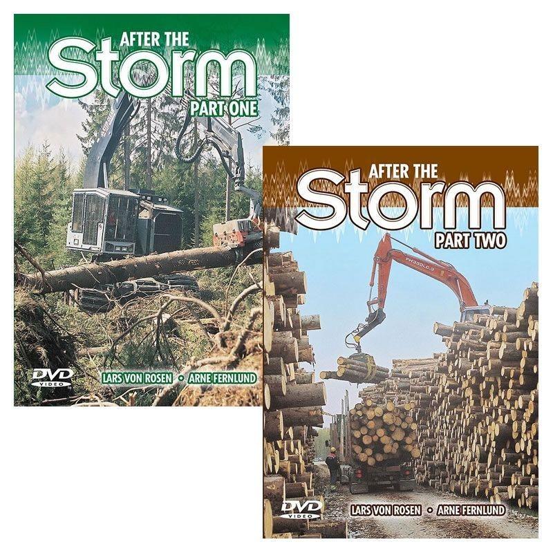 After the Storm part 1 & part 2 (DVD) - Lars von Rosen and Arne Fernlund